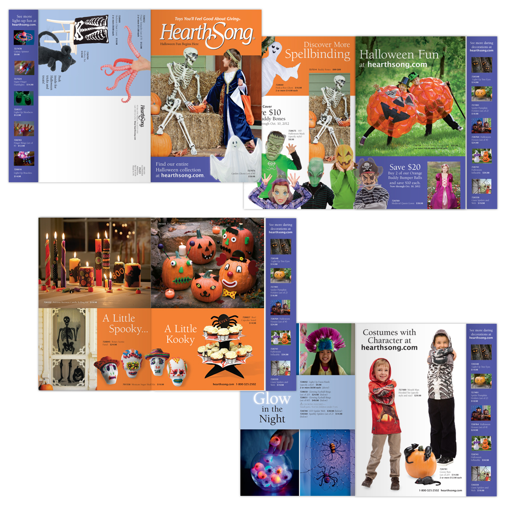 Halloween Mailer/Catalog Bind-In