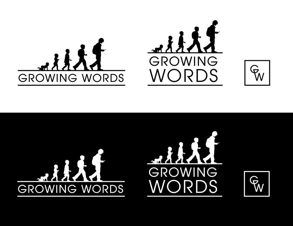 Growing Words Logo Design