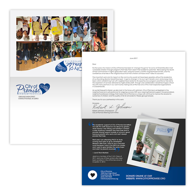 Personalized response mailer/letter