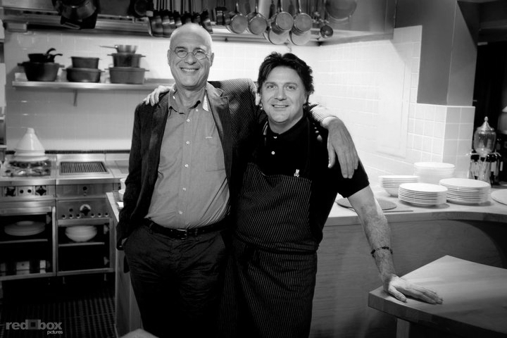 Mark Bittman and Chef Scott Carsberg