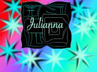 Julianna Cardozo, Pixlr Name Poster
