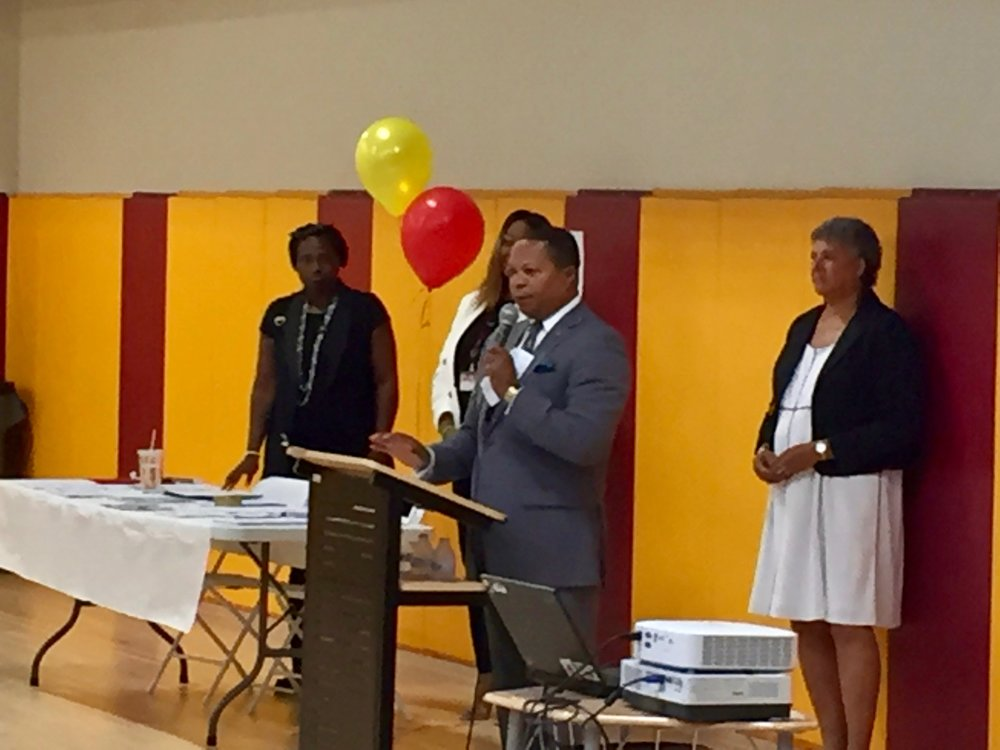 Founder/CEO Dr. Mullings brought greetings.