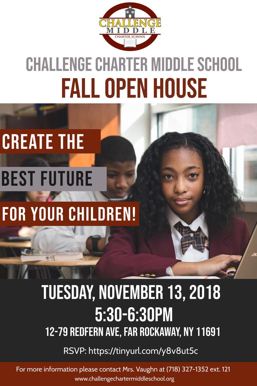 Open House Flyer 5th Grade