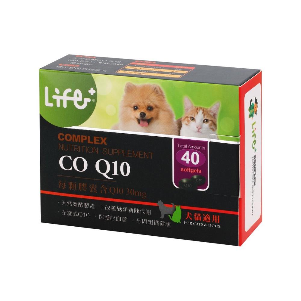 Life+左旋輔酵素CO-Q10