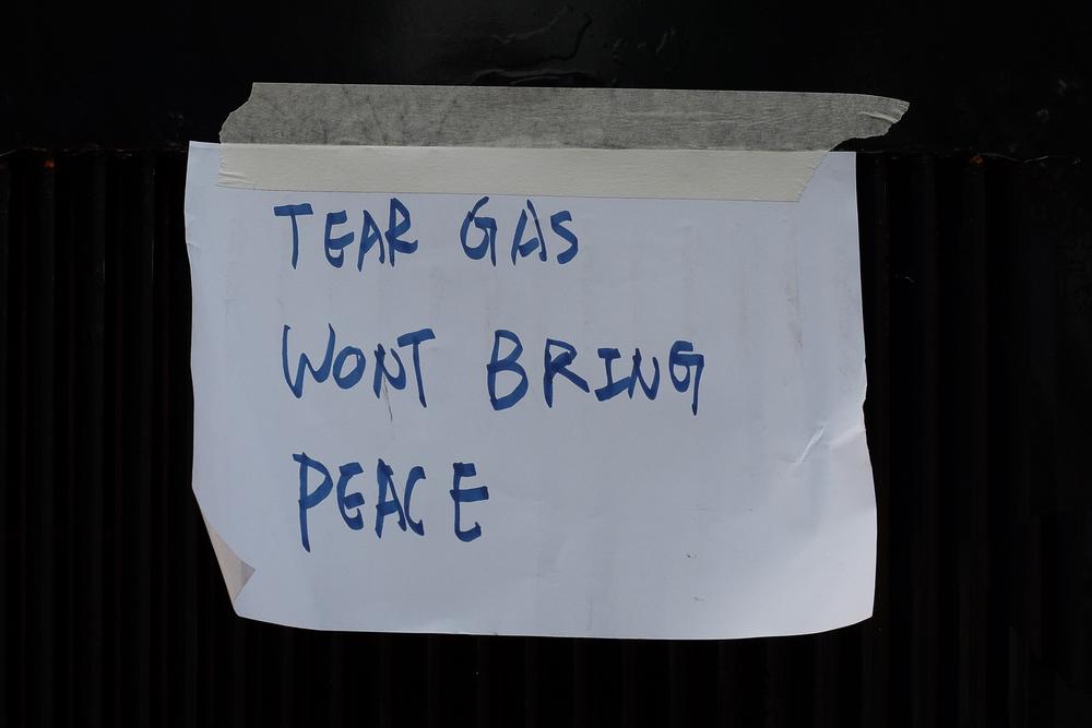 """""""TEAR GAS"""""""