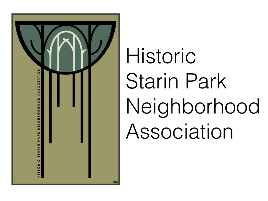 Historic Starin Park Neighborhood Association