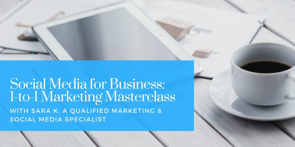 Social Media Training for Small Businesses: 1-to-1 Marketing Masterclass