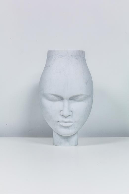Yi Zhou, Natalia vase, marble, 2016