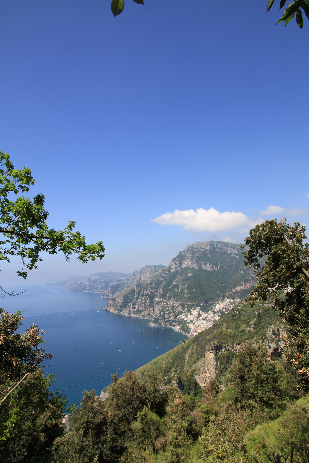 A photo taken while completing 'The Walk of the Gods,' on the Amalfi Coast, Italy in 2014 - Just STUNNING!