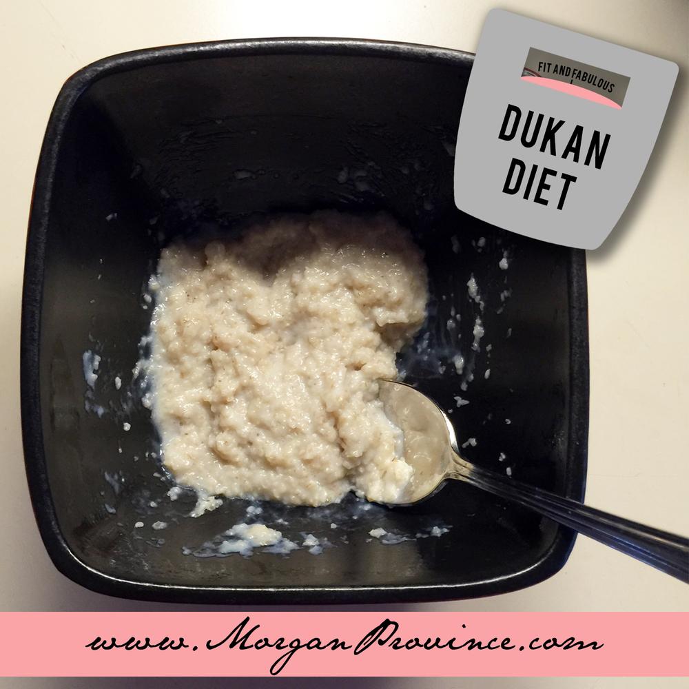 Dukan Diet Oatmeal | Morgan Province