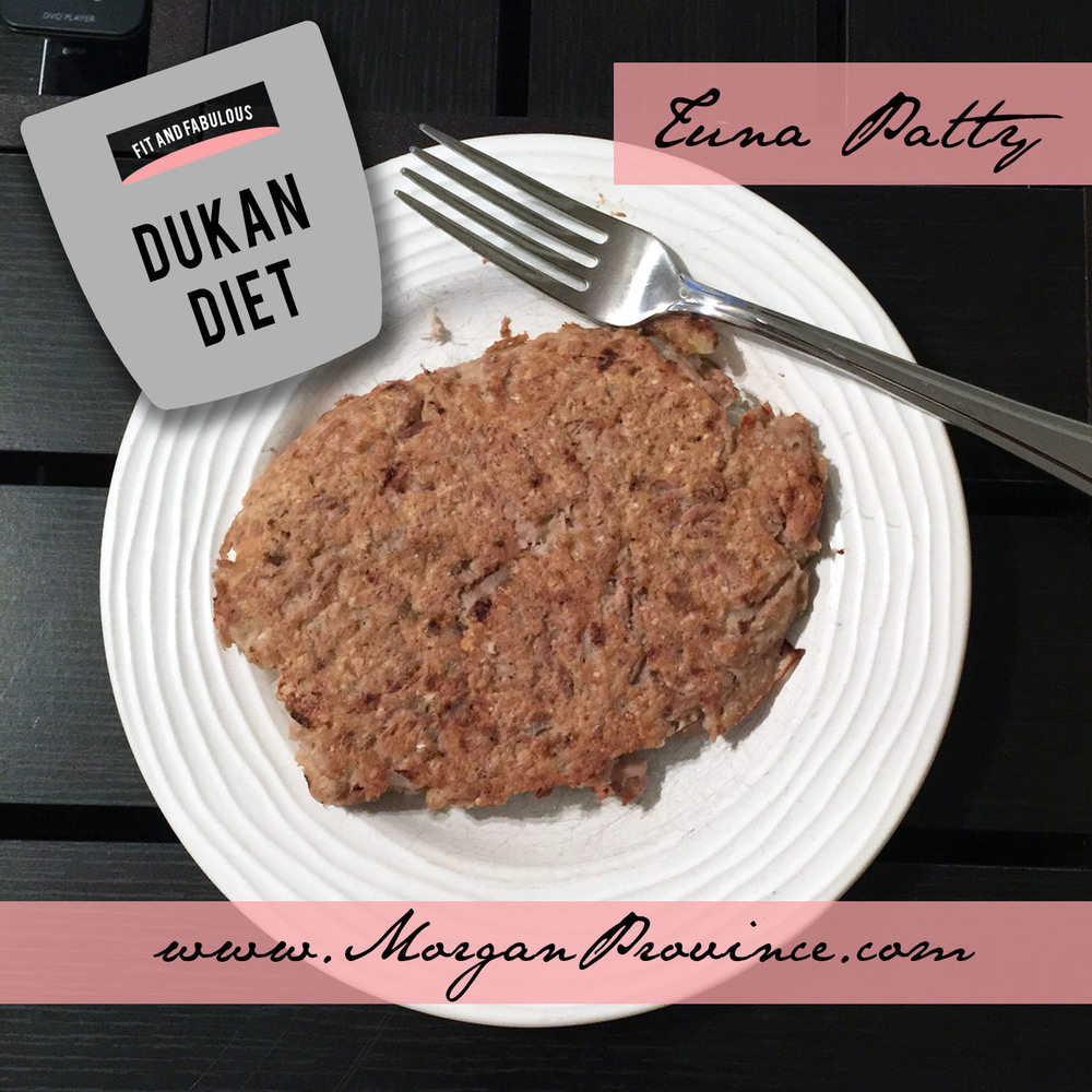 Dukan Diet Tuna Patty Recipe