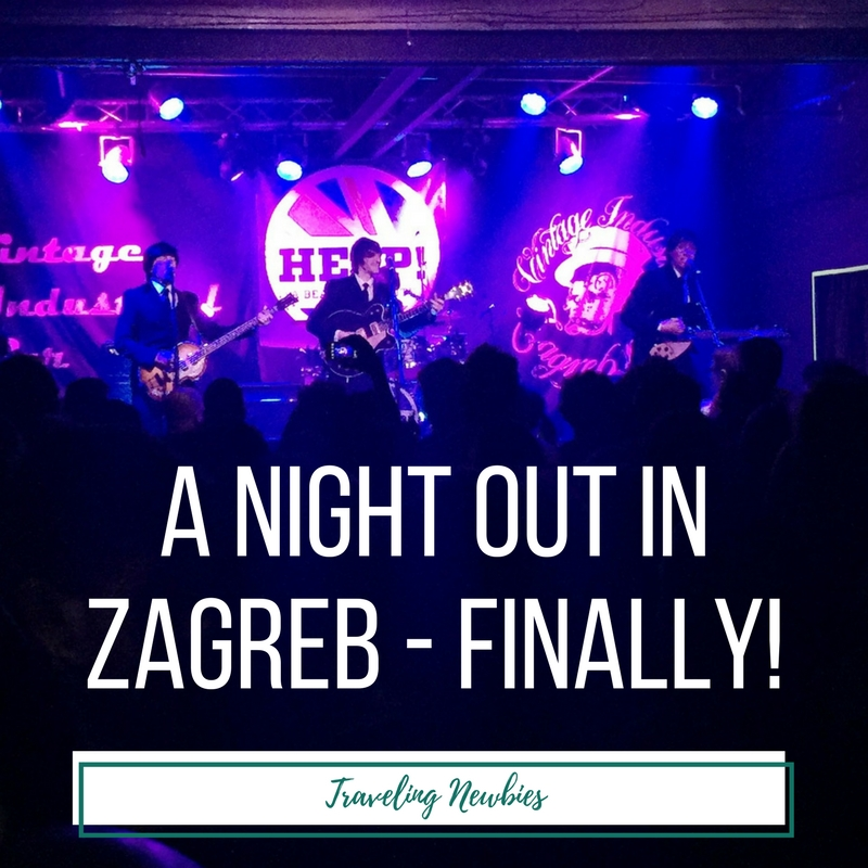 A Night Out in Zagreb, Croatia