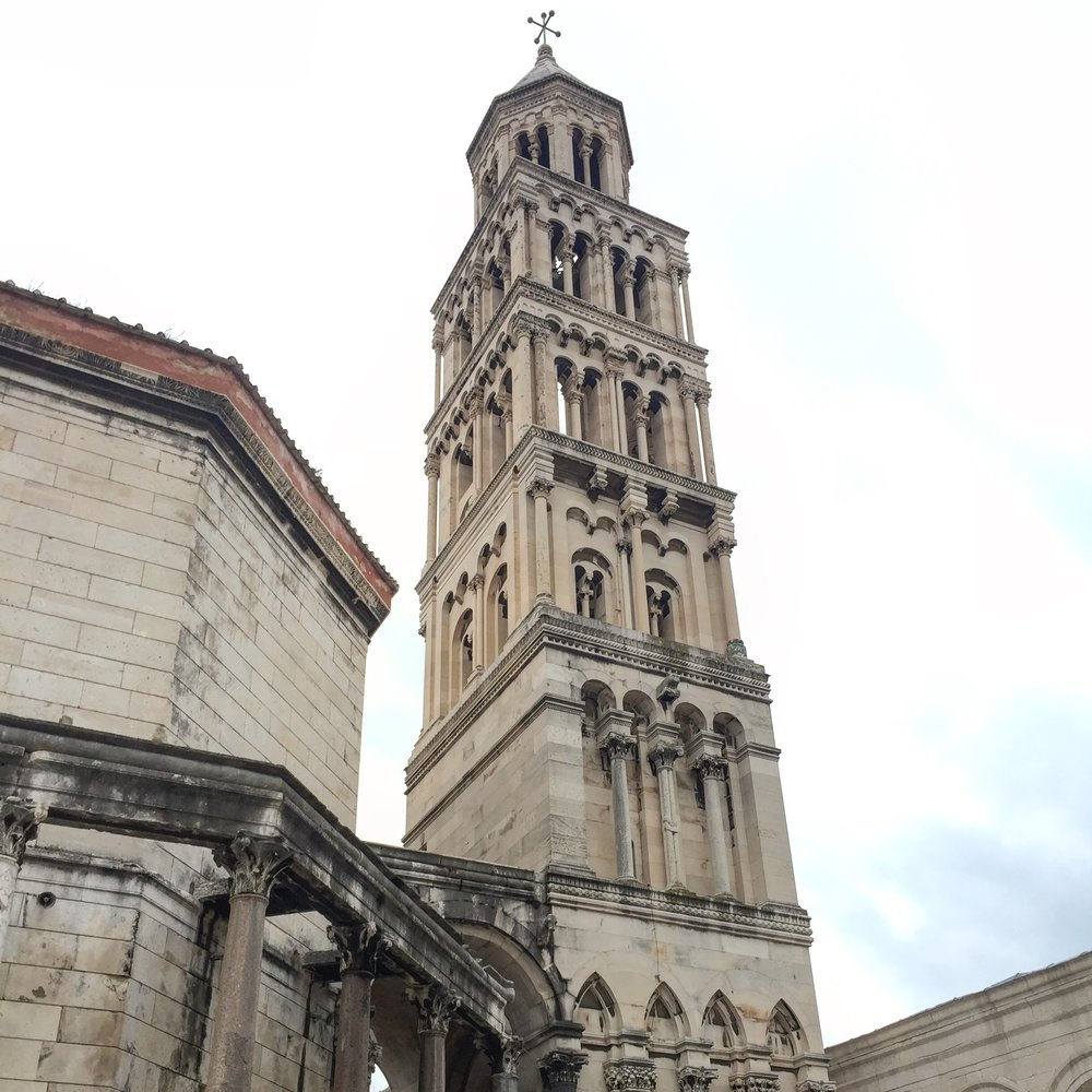 Split Cathedral Saint Domnius Outside.JPG