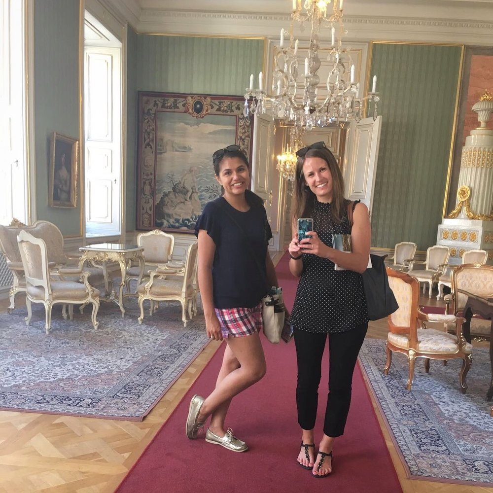 Touring Primates Palace in Bratislava by Traveling Newbies