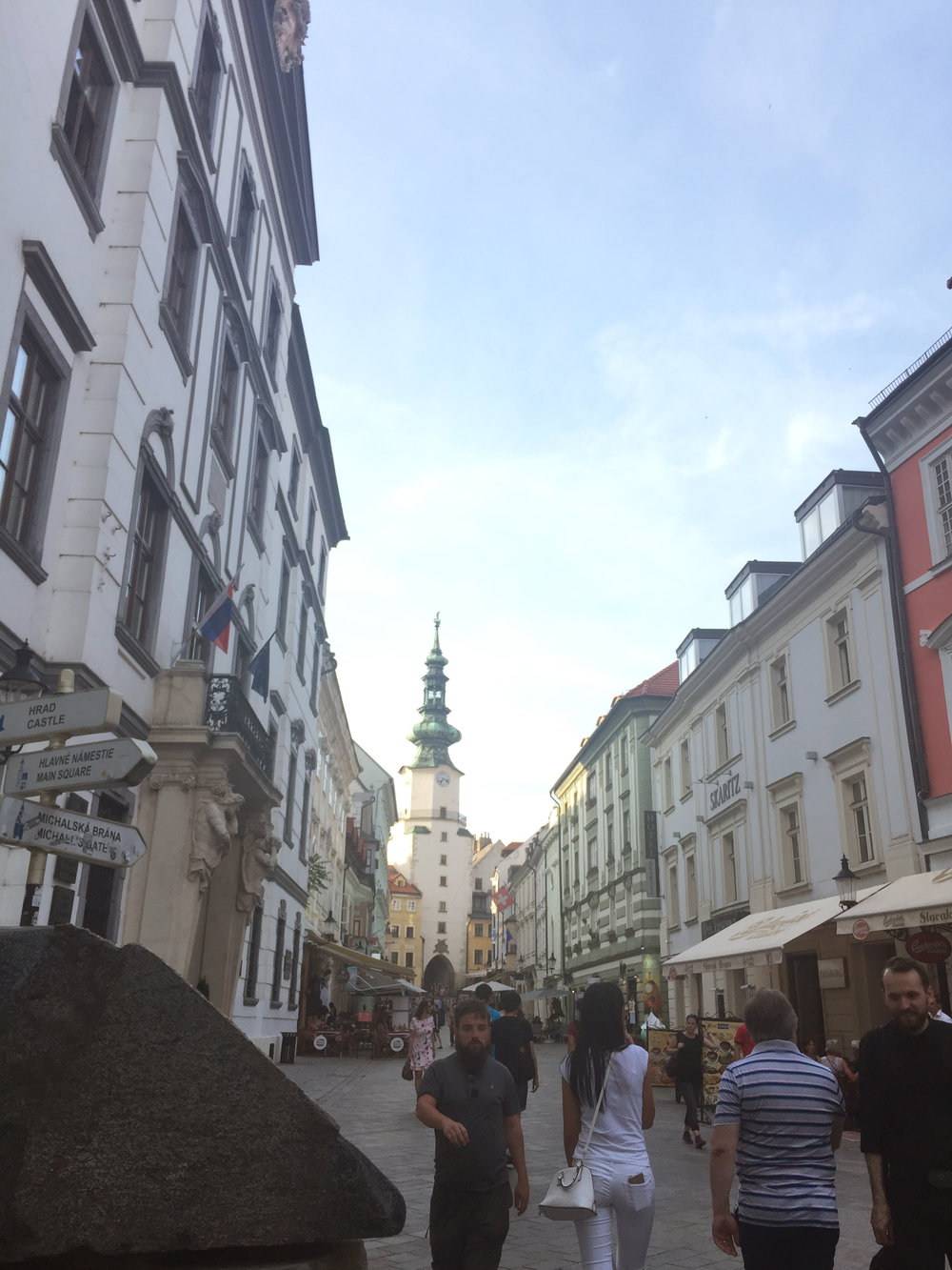 Downtown Bratislava by Traveling Newbies