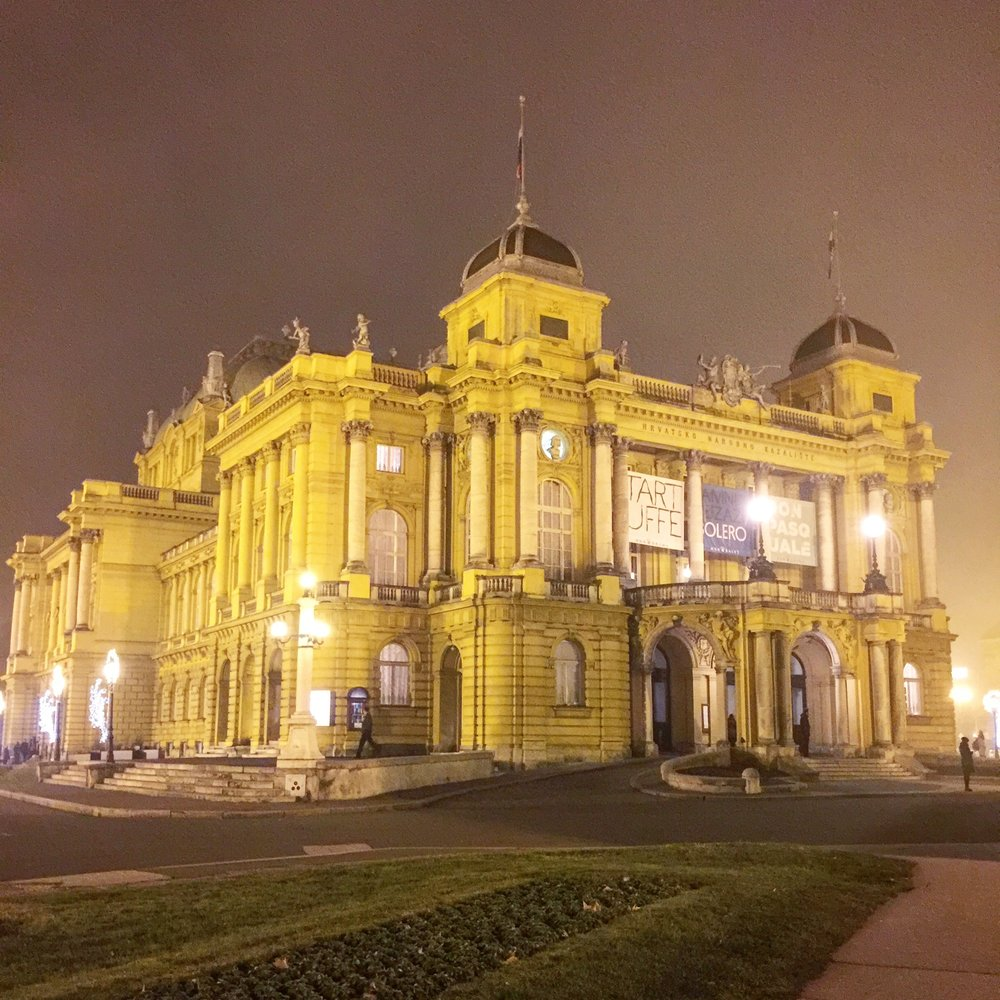 Croatian National Theater by Traveling Newbies