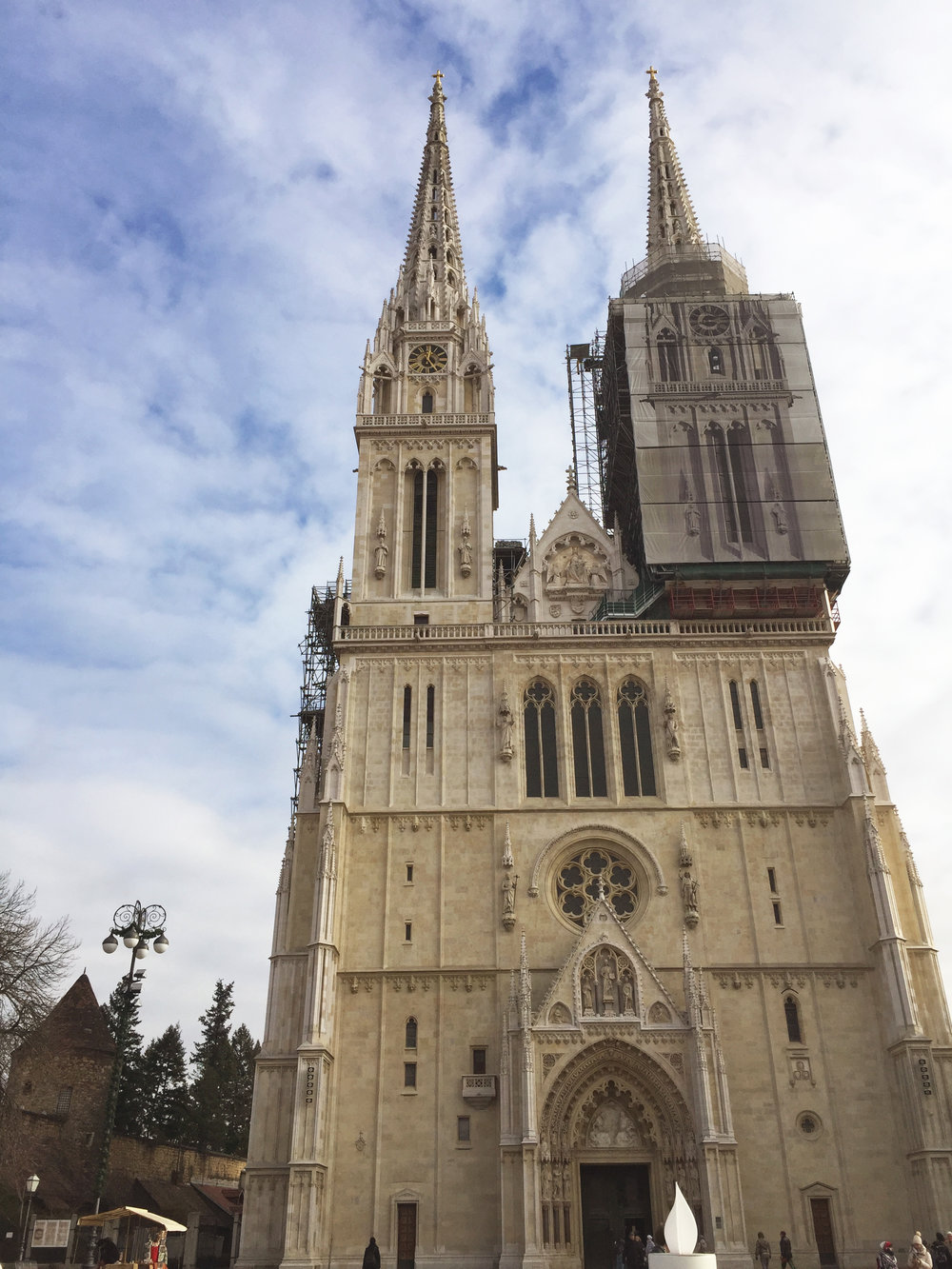 Zagreb Cathedral by Traveling Newbies