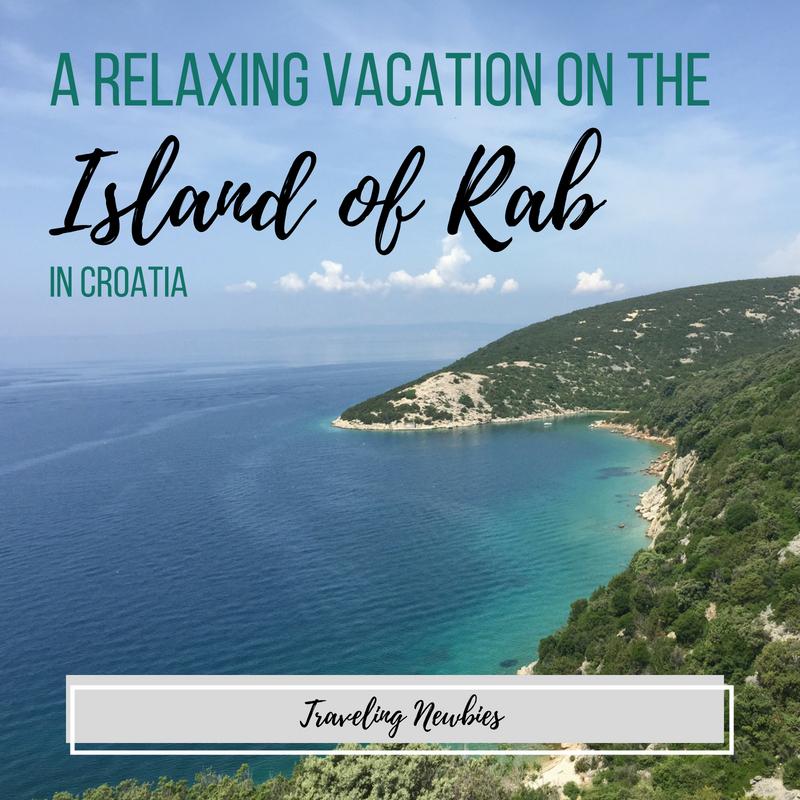 Traveling Newbies visit Rab Island in Croatia