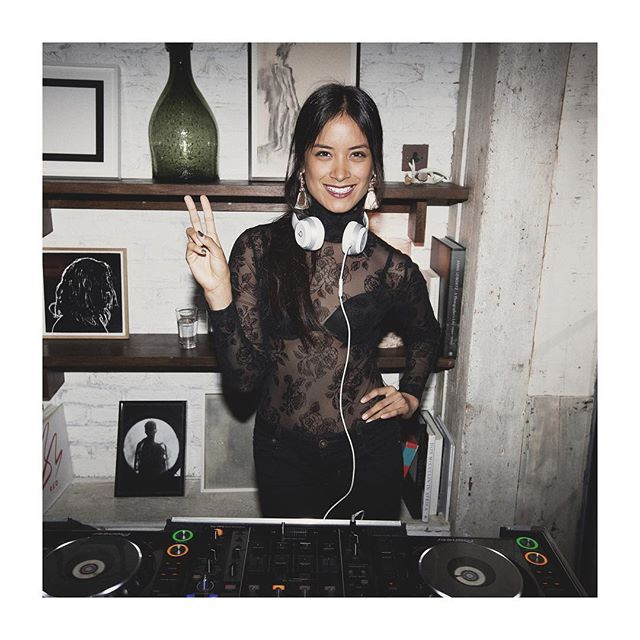 Back by popular demand - @diana.vizcaya setting the vibe at @sohohouse Dean Street London this evening . . . . . . . . #femaledj  #thebks #dj #internationaldj #agency #artistmanagement #music #model #femaleagency #girlpower #talent #style #girl #look #event #party #club #music #housemusic  #hiphop #turntablists #djlife #dancemusic #djlifestyle #djs #djing #nyfw #lfw #fashion #fashiondj #realdjs