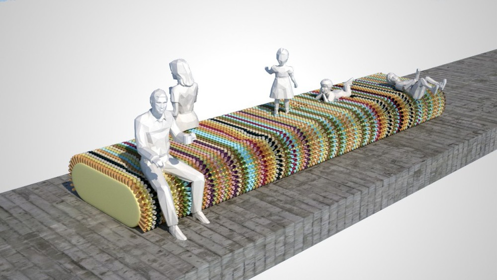 Bench Press / proposal M-Rad Architecture / 2013