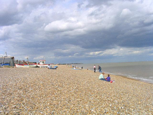 Aldeburgh beach, Suffolk