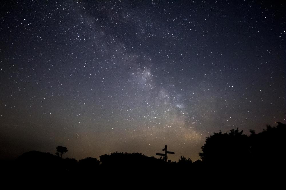The Milky Way as seen from the UK