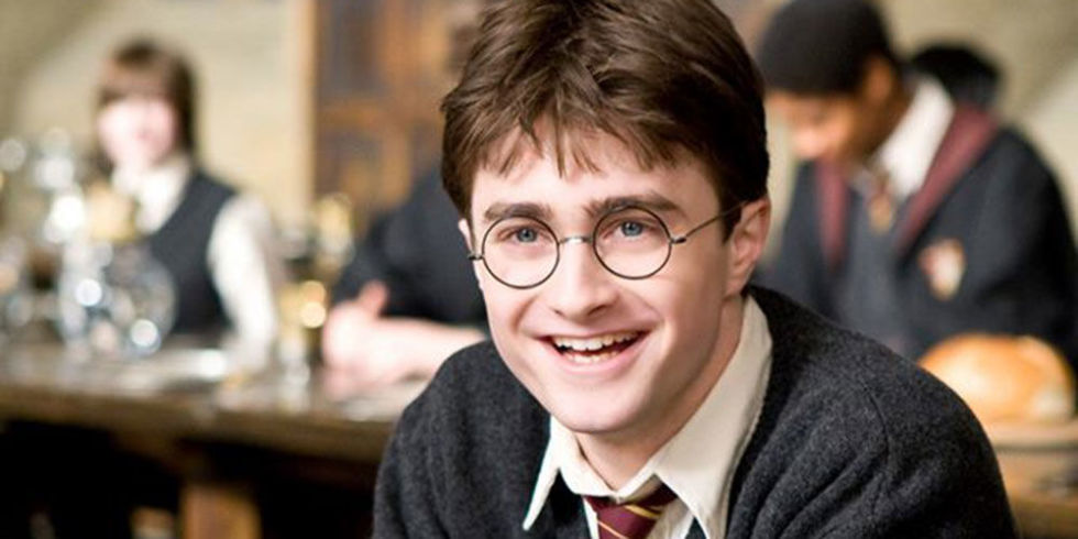 Above: Harry Potter with roots from Suffolk