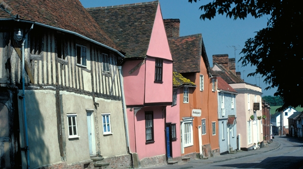 Above & below: the beauty of Lavenham