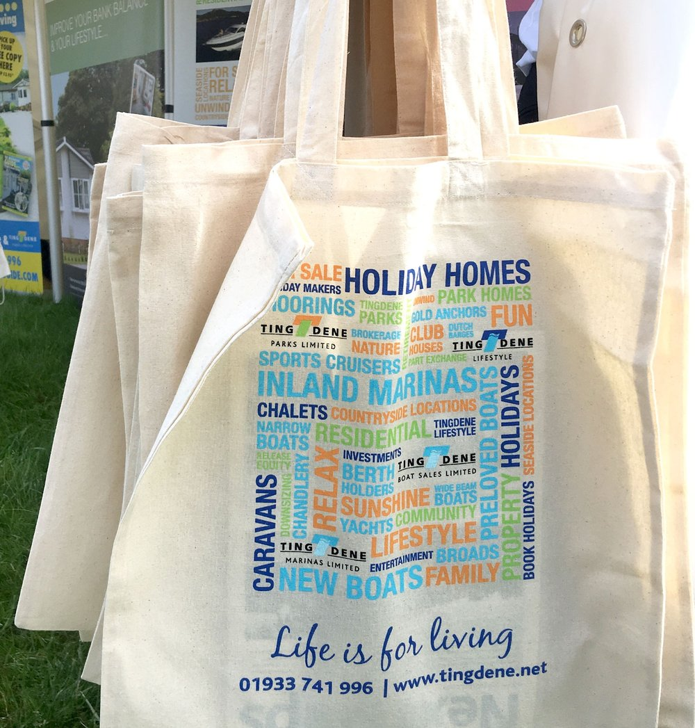 Above: We have thousands of info goody bags to give out for free - come say hi at the Norfolk Show!