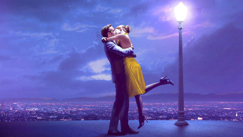 Above: La La Land hits the big screens at Lincoln Castle