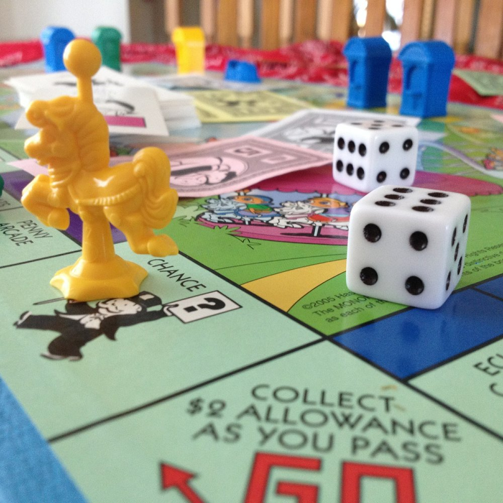 junior monopoly board
