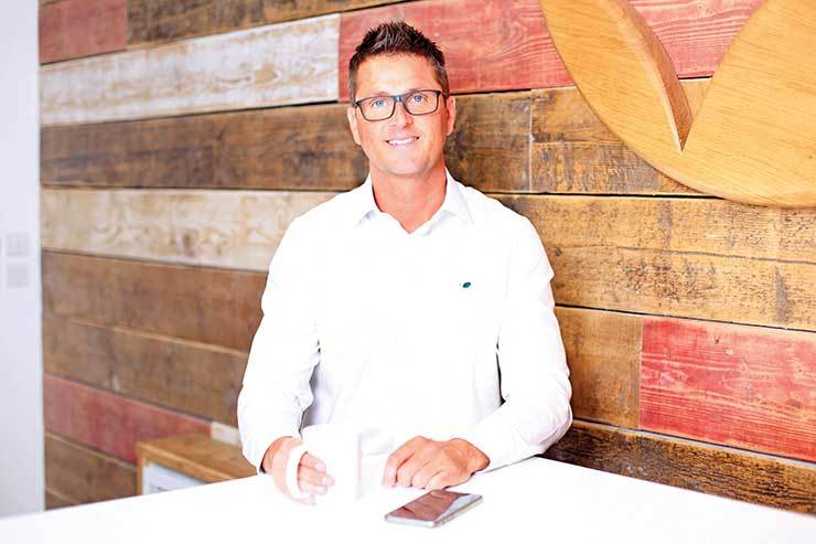 Above: Simon Altham - Managing Director of Hoseasons