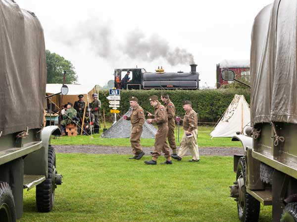Lincolnshire Wolds Railway 1940's Weekend -  Source