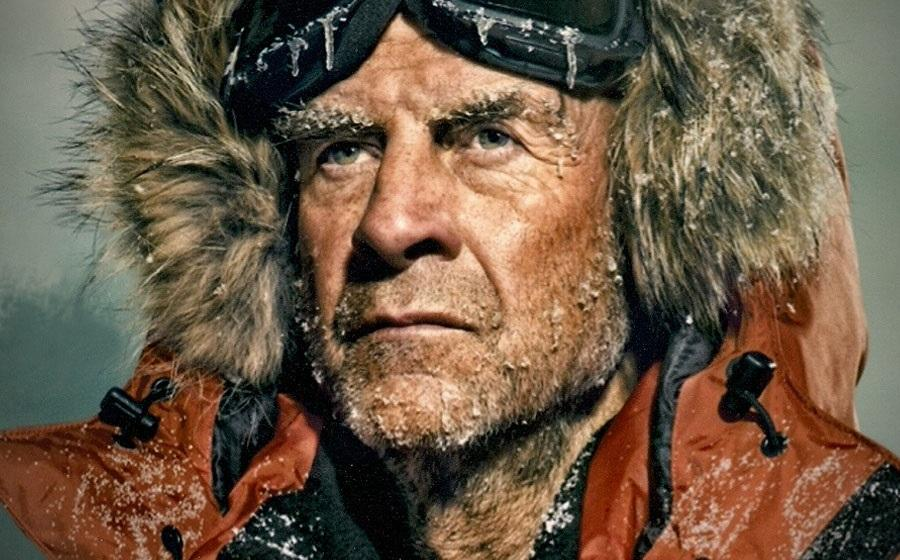 Above: Celebrity Sir Ranulph Fiennes who is appearing at the show!