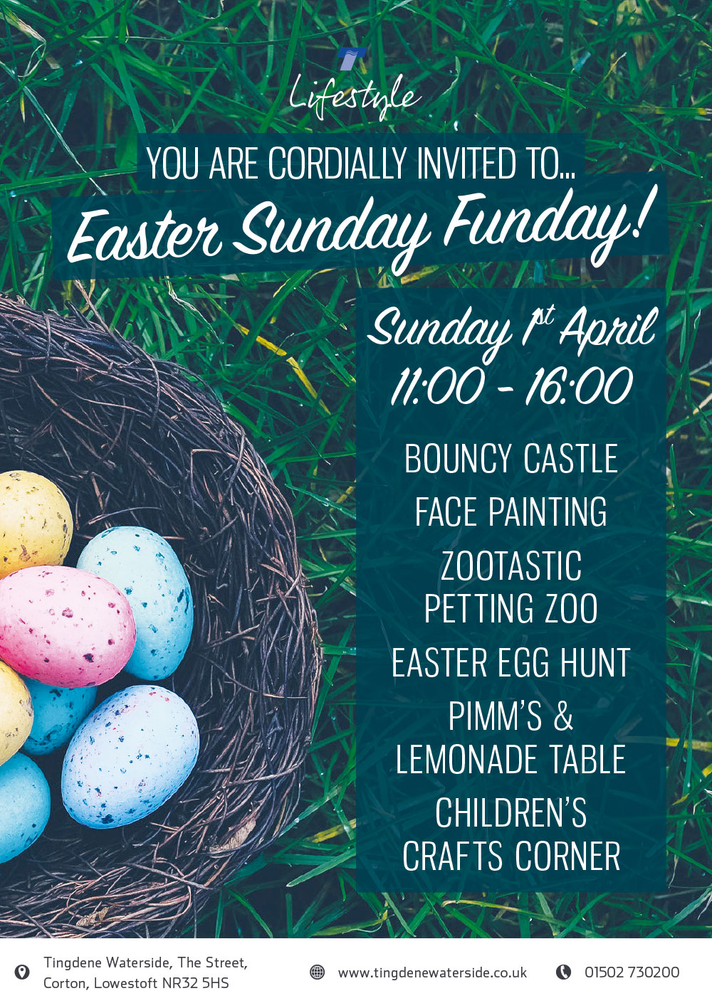 Easter Fun Day at Waterside Park - click to enlarge