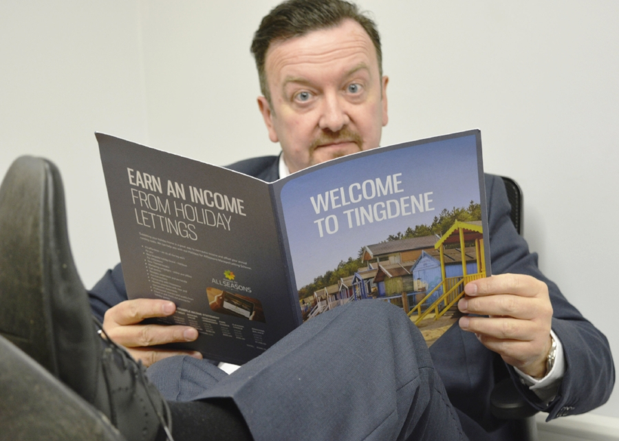 Above: David Brent reviews the latest offerings from Tingdene Lifestyle.