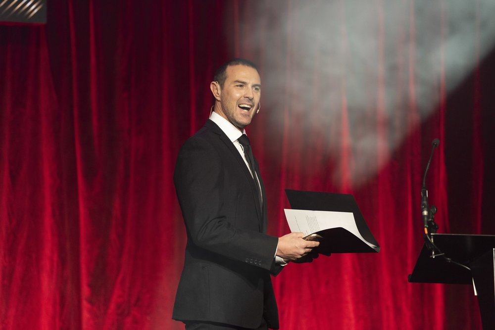 Image: Paddy McGuinness - Hoseasons Conference 2018 Image credit: Hoseasons