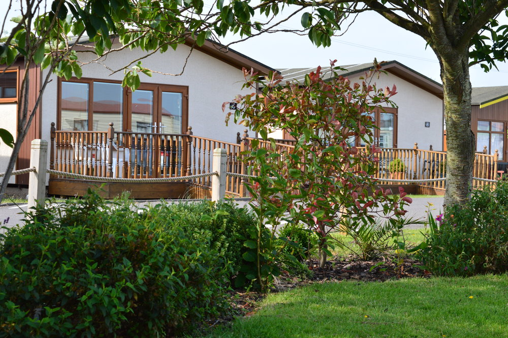 Image: Ceder wood chalets - a great Lincolnshire retreat and a great property investment