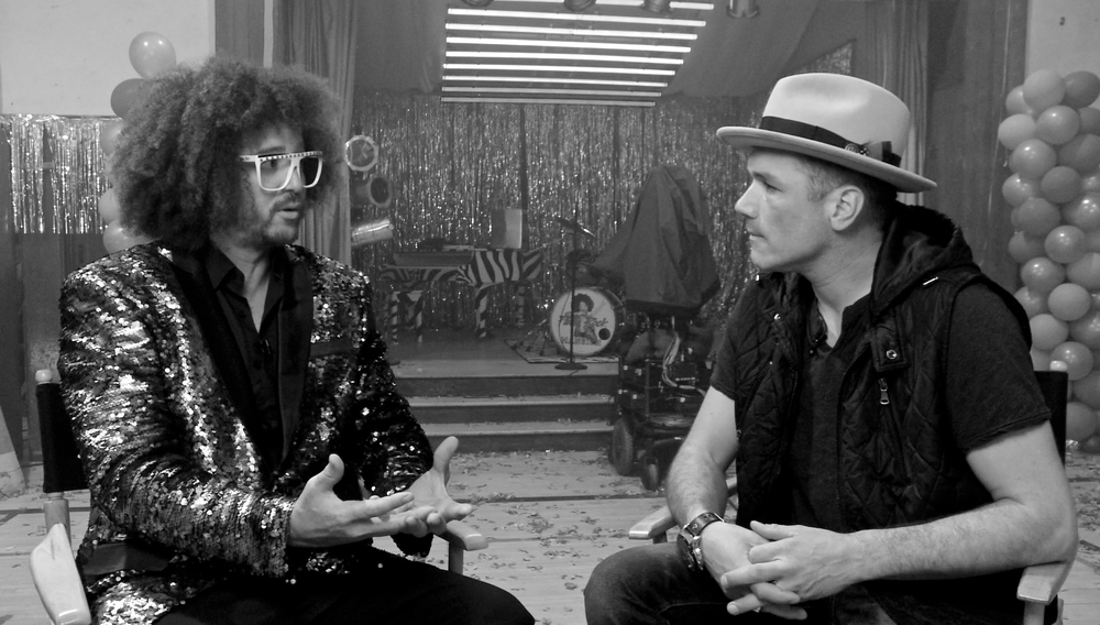 BompopTV with Redfoo (Interview Coming Soon)