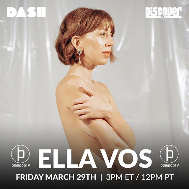 "Today on Bompop! Recording artist Ella Vos talks about her battle with cancer, writing ""Temporary"" and touring through one of the hardest struggles of her life.  12pm CST on Dash Radio DISCOVERY channel! . . #ellavos #indie #musician #singersongwriter #recordingartist #losangeles #cancersurvivor #fuckcancer #radioshow #interview #studiosession #musicproducer #independentartist"