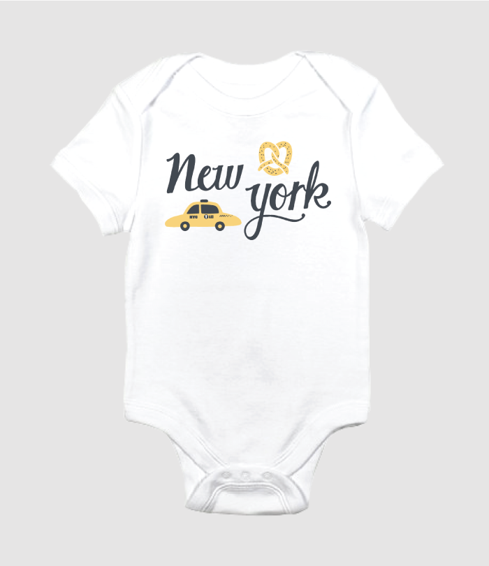 new york onesie design