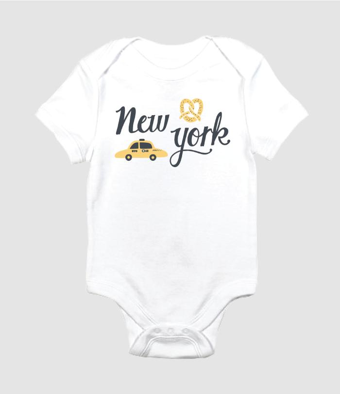 new york onesie design