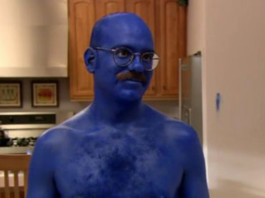 David Cross as Tobias Fünke in  Arrested Development.
