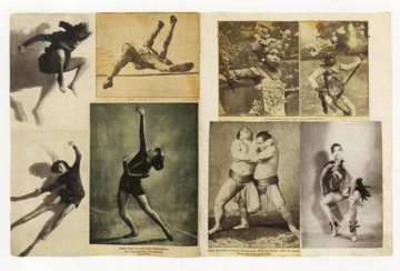 Figure 3. Pages from Hannah Höch's    Album   (  Scrapbook  ), 1933. Scan from   Hannah Höch album  . Ostfildern-Ruit: Hatje Cantz Verlag. 2004. n. pag.