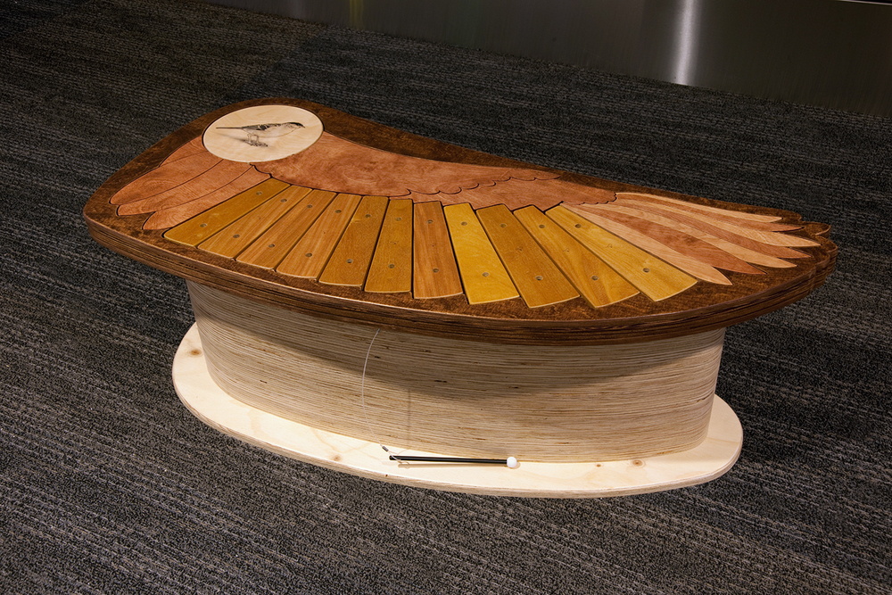 Bird Song Bench (xylophone)