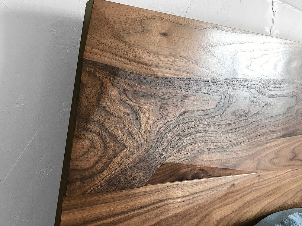 walnut is a lovely material to work with
