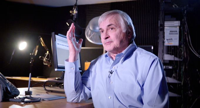 Interview with Seth Shostak, Senior Astronomer at SETI Institute and host of Big Picture Science. Mountain View, CA, 2017.