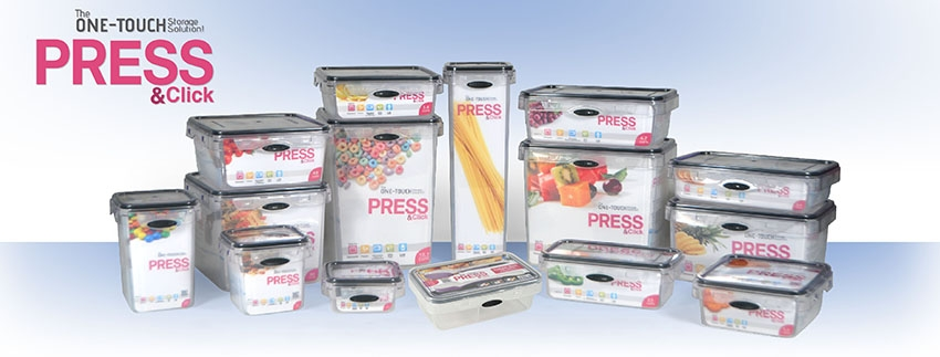 Press & Click Storage Containers  - $2.99-$39.99 www.Storallsolutions.com (800) 336-4726