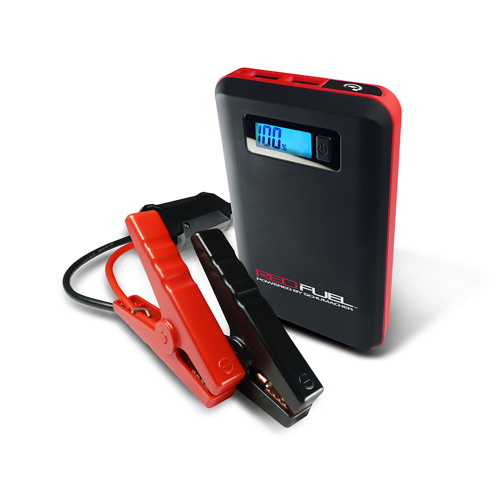 Red Fuel Jumpstarter & Mobile Power Schumacher  - $ 79.99 http://www.batterychargers.com/(800) 621-5485