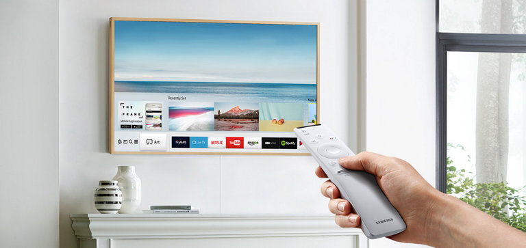 """FRAME"" by SAMSUNG  - 65"" - The most beautiful TV you've never seen(800) 726-7864www.Samsung.com/us/televisions  $1999.00 55"" to $ 2799.00"